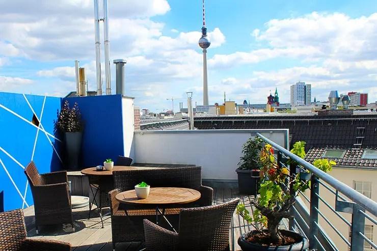 Visita à Torre de TV de Berlim (Foto: Esse Mundo É Nosso)