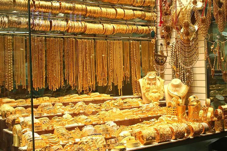Mercado de Ouro de Dubai (Foto: Esse Mundo é Nosso)