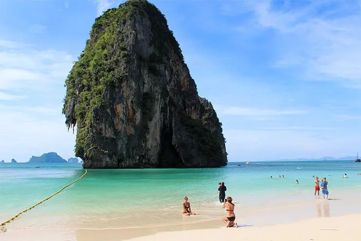 O que fazer em Railay Beach, Tailândia - Phra Nang Beach (Foto: Esse Mundo É Nosso)