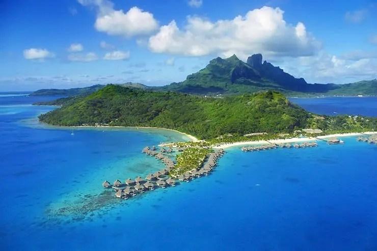 5 ilhas da Polinésia que inspiraram Moana: Bora Bora (Foto: Divulgação/Dreamlines)