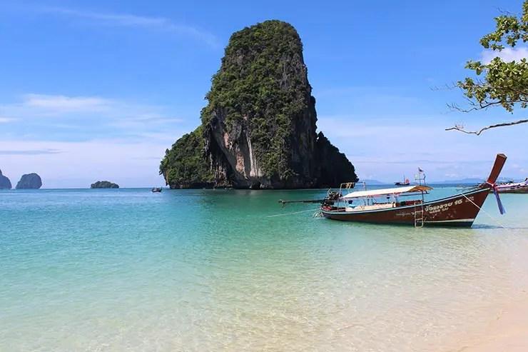 Melhores praias da Tailândia - Phra Nang Beach (Foto: Esse Mundo É Nosso)