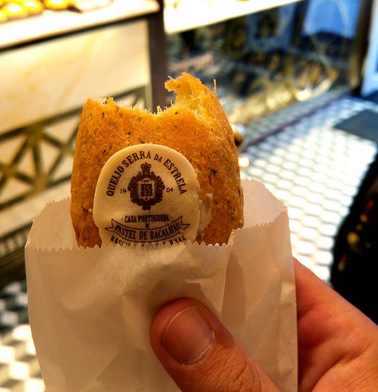 Onde comer em Lisboa: Casa Portuguesa do Pastel de Bacalhau (Foto: Esse Mundo É Nosso)