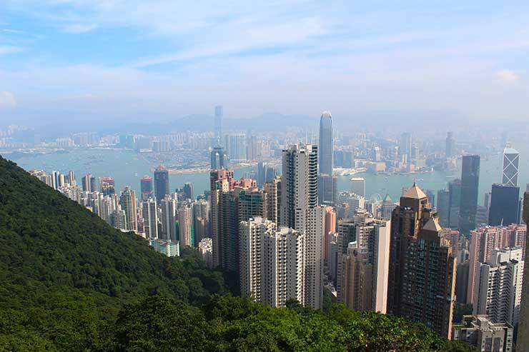 The Peak em Hong Kong (Foto: Esse Mundo é Nosso)