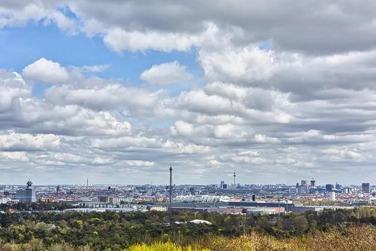 Mirantes em Berlim: Teufelsberg (Foto via Shutterstock)