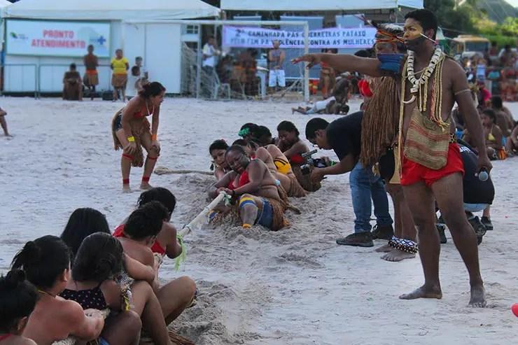 Jogos Pataxó em Porto Seguro (Foto: Esse Mundo É Nosso)