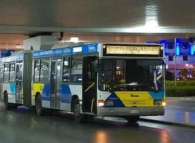 Como ir do aeroporto de Atenas ao centro (Foto: Facebook/AthensAirportBus)