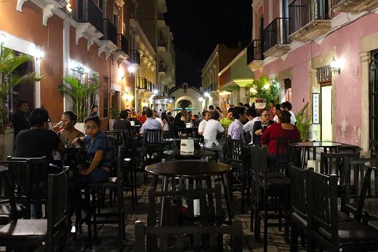 Onde comer em Campeche, México: Calle 59 (Foto: Esse Mundo É Nosso)