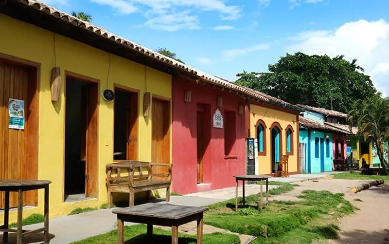 Cidades de praia na Bahia - Caraíva (Foto: Esse Mundo é Nosso)