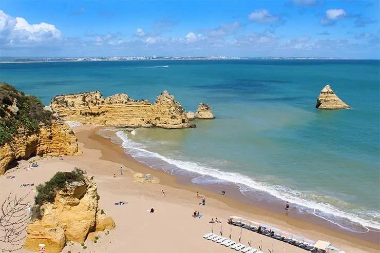 Melhores praias do Algarve, Portugal - Praia da Marinha (Foto: Esse Mundo É Nosso)