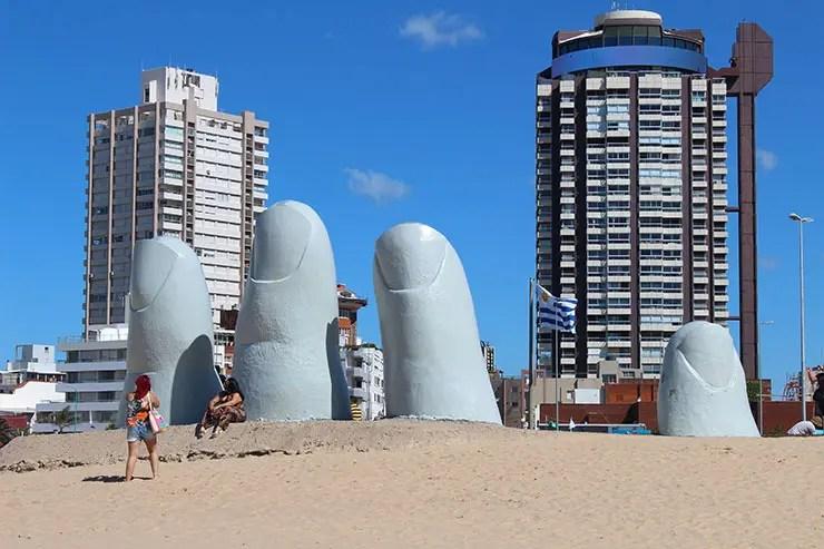 Melhores praias do Uruguai - Punta del Este (Foto: Esse Mundo É Nosso)