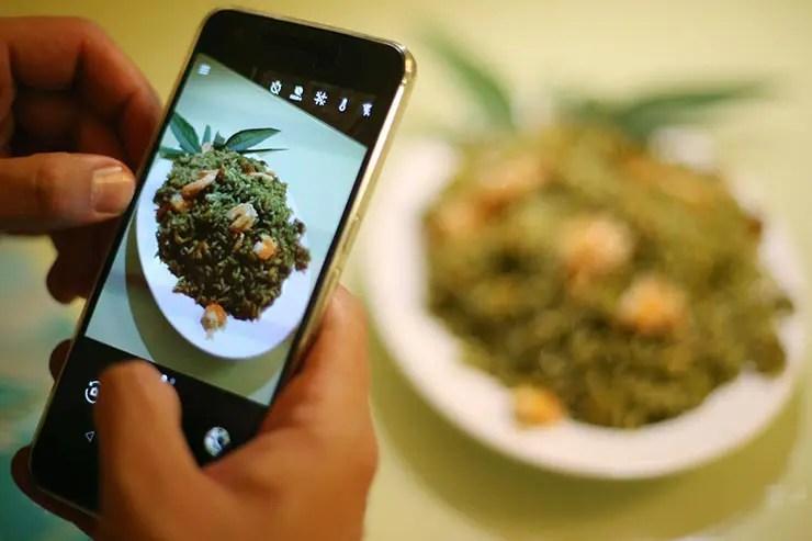 Culinária maranhense - Arroz de Cuxá (Foto: Roberto Castro/Mtur)