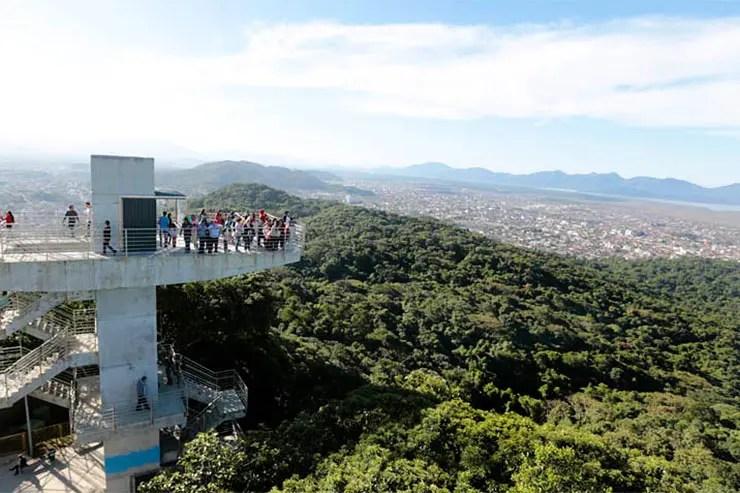 Visita ao Mirante de Joinville (Foto: Divulgação/Prefeitura de Joinville)