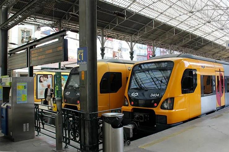 Viajar de trem em Portugal (Foto: Esse Mundo É Nosso)