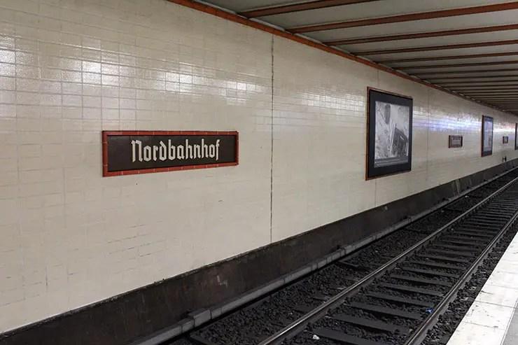 Onde ver o Muro de Berlim - Nordbanhof (Foto: Esse Mundo É Nosso)