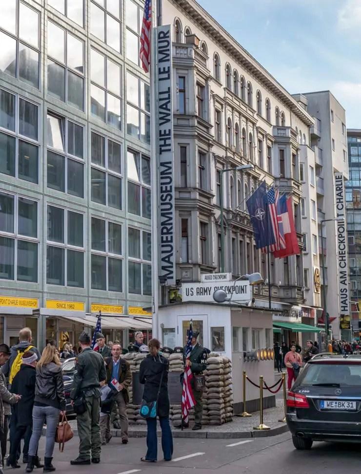 Onde ver o Muro de Berlim - Mauermuseum/Museu do Muro (Foto via Shutterstock)