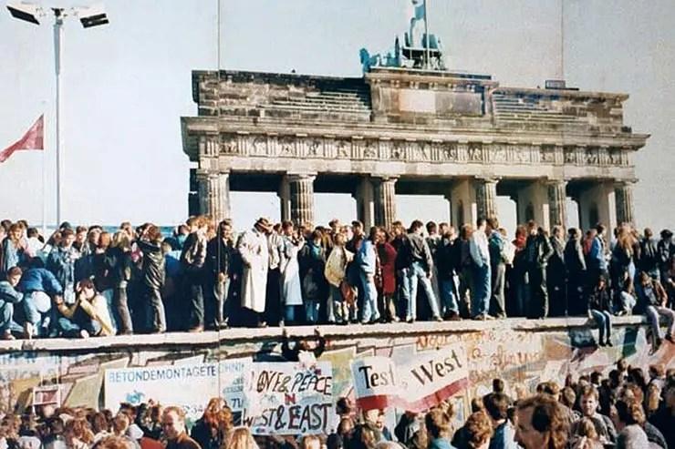 Queda do Muro de Berlim [Foto: Lear 21 (CC BY-SA 3.0)]