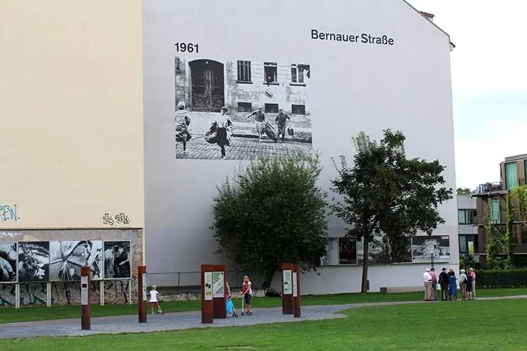 Onde ver o Muro de Berlim - Bernauer Straße (Foto: Esse Mundo É Nosso)