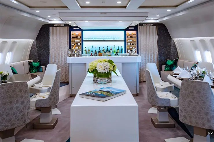 Crystal Skye, avião mais luxuoso do mundo (Foto: Reprodução/Blog Crystal)
