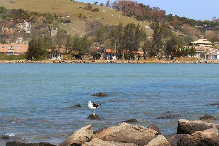 Ponta da Barra, em Laguna (Foto: Esse Mundo É Nosso)