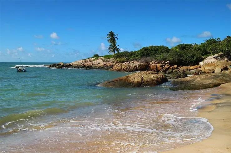 Praia de Calhetas em Cabo de Santo Agostinho (Foto: Esse Mundo É Nosso)