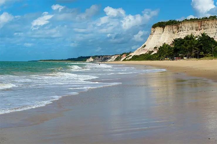 Praias de Arraial d'Ajuda: Praia da Lagoa Azul (Foto: Esse Mundo É Nosso)