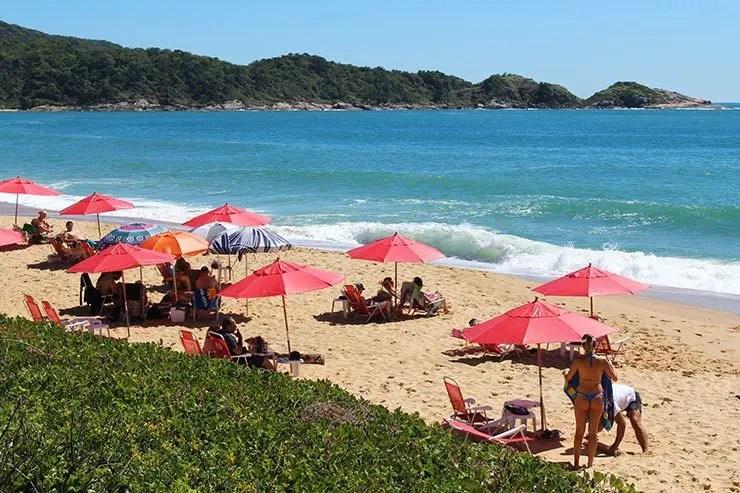 Praias de Balneário Camboriú: Praia do Estaleiro (Foto: Esse Mundo É Nosso)