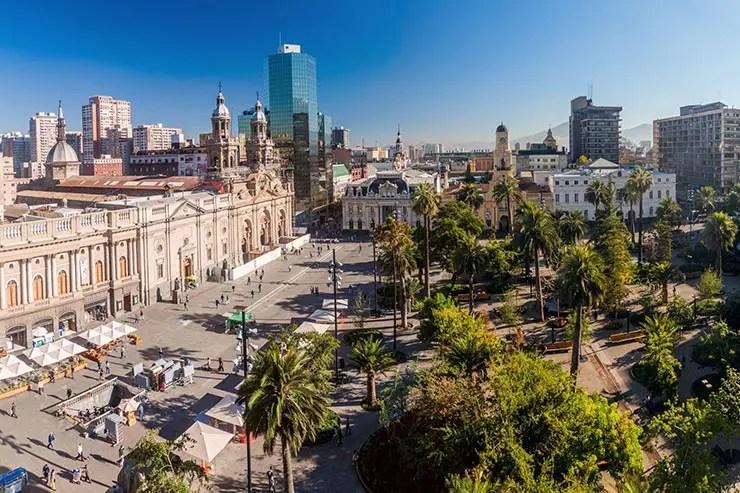 Quando ir pra Santiago do Chile (Foto via Shutterstock)