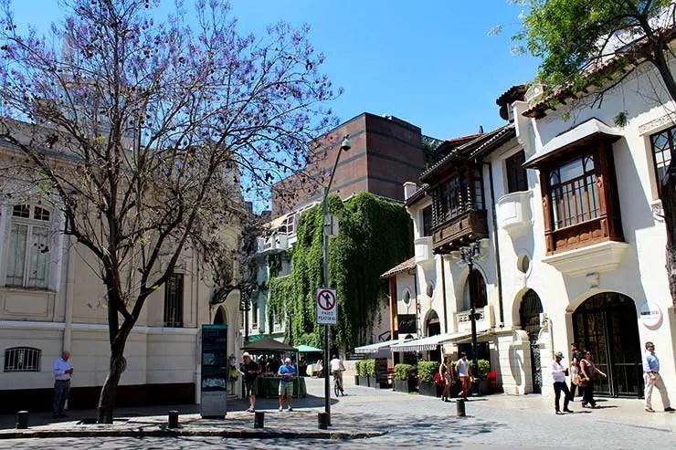 Quando ir pra Santiago: Bairro Lastarria (Foto: Esse Mundo É Nosso)