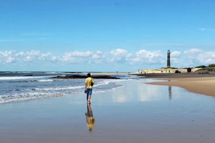 José Ignacio, no Uruguai (Foto: Esse Mundo é Nosso)