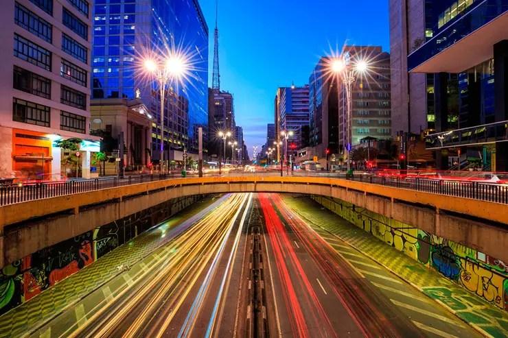Réveillon na Paulista (Foto: Shutterstock)
