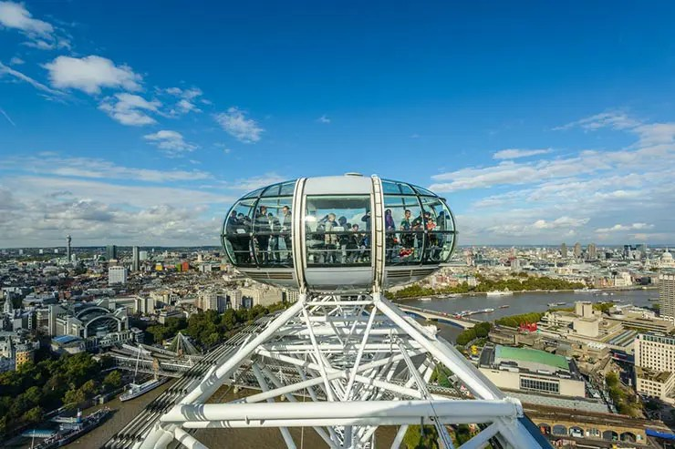 São Paulo terá roda gigante - London Eye (Foto via Shutterstock)