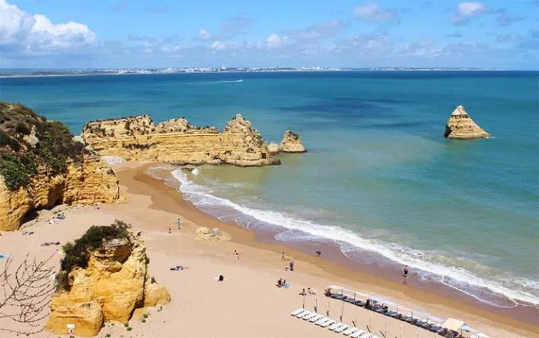 Dicas de Lagos, Portugal - Praia Dona Ana (Foto: Esse Mundo É Nosso)