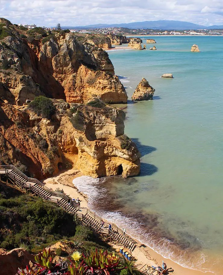 Melhores praias do Algarve, Portugal - Praia do Camilo (Foto: Esse Mundo É Nosso)