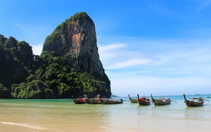 O que fazer em Railay Beach, Tailândia - Railay West (Foto: Esse Mundo É Nosso)