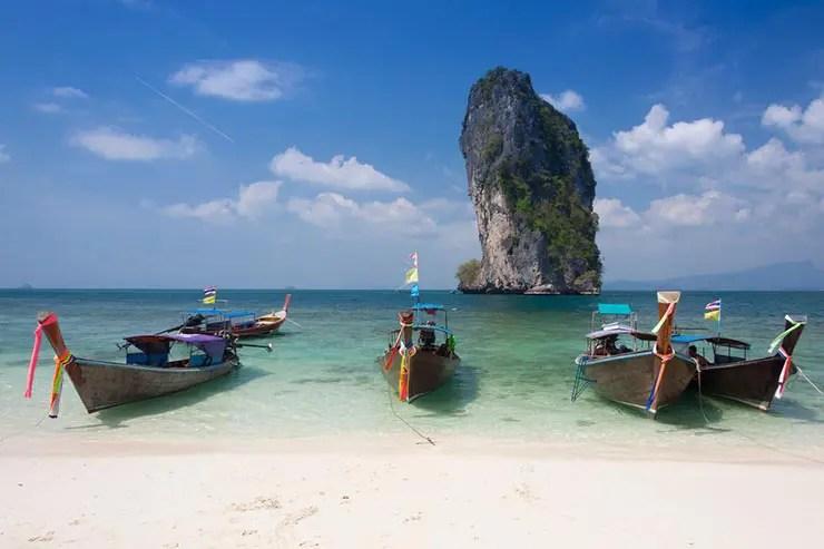 O que fazer em Railay Beach, Tailândia - Poda Island (Foto via Shutterstock)
