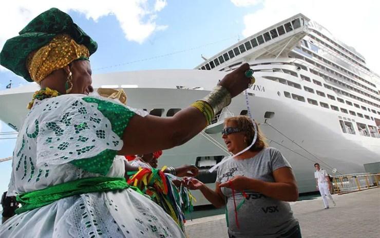 O que fazer numa parada de navio em Salvador (Foto: Elói Corrêa/GOVBA)