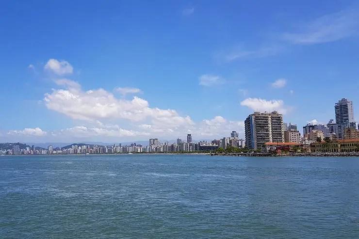 Passeio de Escuna em Santos (Foto: Esse Mundo É Nosso)
