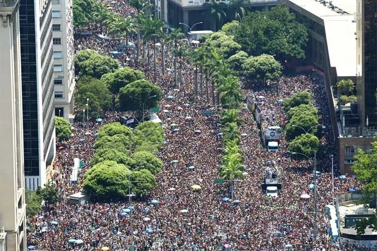 Programação Blocos do Carnaval do Rio 2018 (Foto: Divulgação/Facebook)