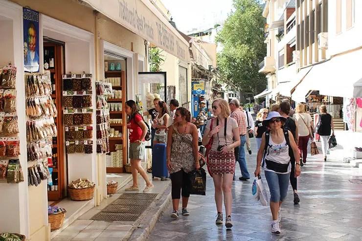 O que fazer em Atenas, Grécia - Plaka (Foto: Esse Mundo É Nosso)