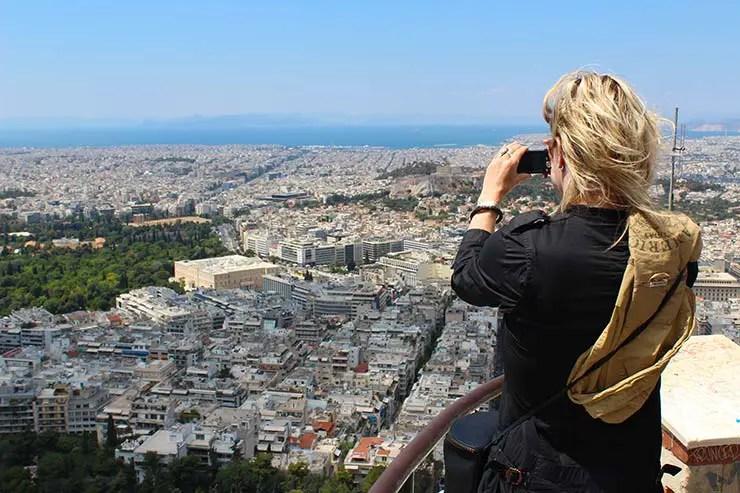 O que fazer em Atenas, Grécia - Monte Licabeto (Foto: Esse Mundo É Nosso)