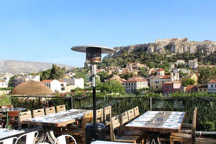Rooftops em Atenas - 360º (Foto: Esse Mundo É Nosso)