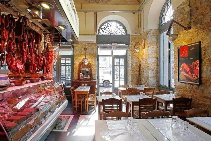 Dica de restaurante em Atenas - Ta Karamanlidika Tou Fani (Foto: Divulgação)