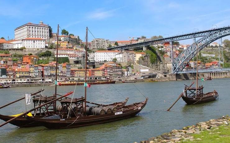 Ponte Dom Luís I em Vila Nova de Gaia, Portugal (Foto: Esse Mundo É Nosso)
