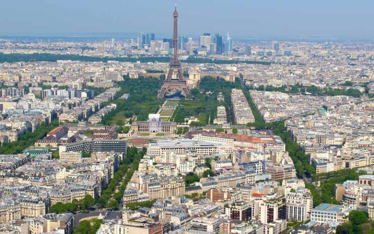 Torre Montparnasse em Paris (Foto: Esse Mundo é Nosso)