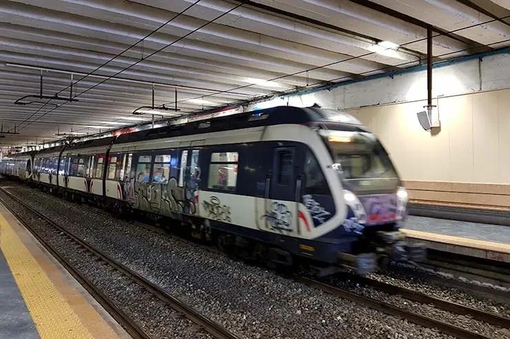 Trem pra Sorrento e Costa Amalfitana (Foto: Esse Mundo É Nosso)