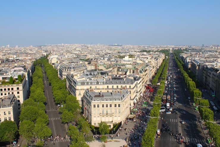 Arco do Triunfo: Como é subir no monumento em Paris (Foto: Esse Mundo é Nosso)
