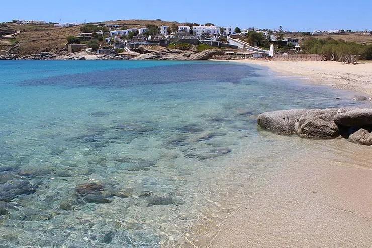 As melhores praias de Mykonos - Agia Anna 2 (Foto: Esse Mundo É Nosso)