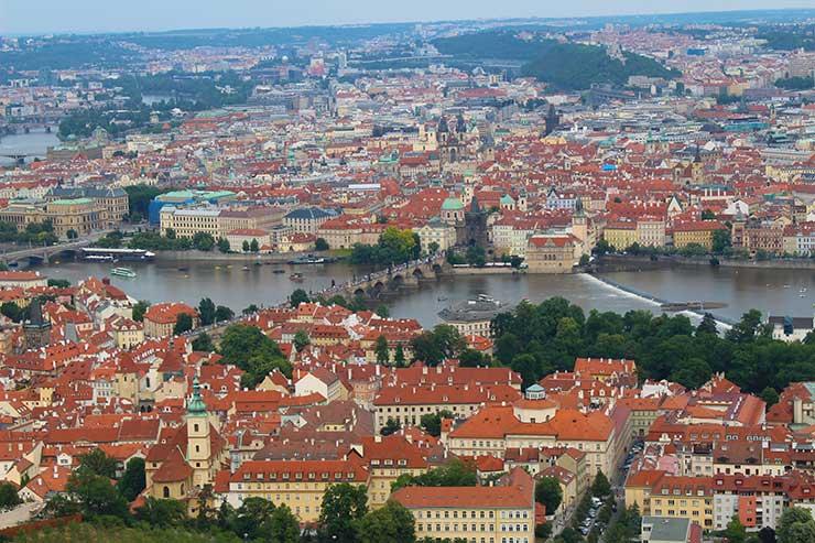 Roteiro em Praga: Vista do Petrin (Foto: Esse Mundo é Nosso)