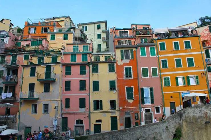 Onde ficar em Cinque Terre: Riomaggiore (Foto: Esse Mundo é Nosso)