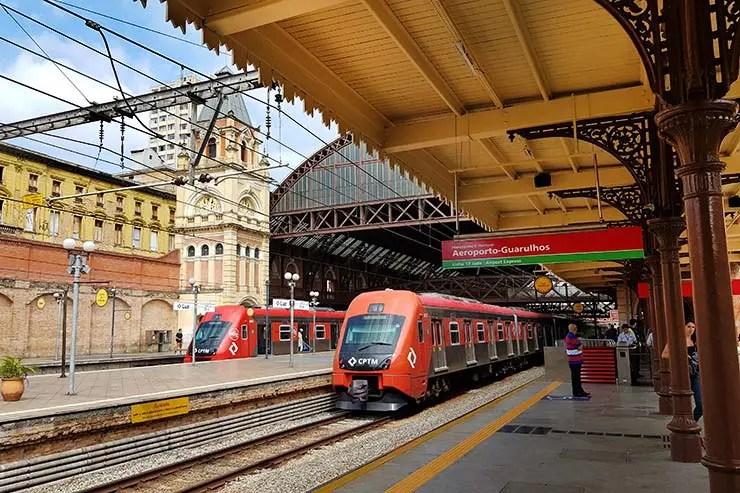 Airport Express: Trem da Luz para o aeroporto de Guarulhos (Foto: Esse Mundo É Nosso)